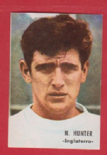 England Norman Hunter Leeds United FH66